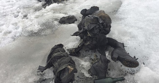 Swiss identify glacier bodies as couple missing since 1942