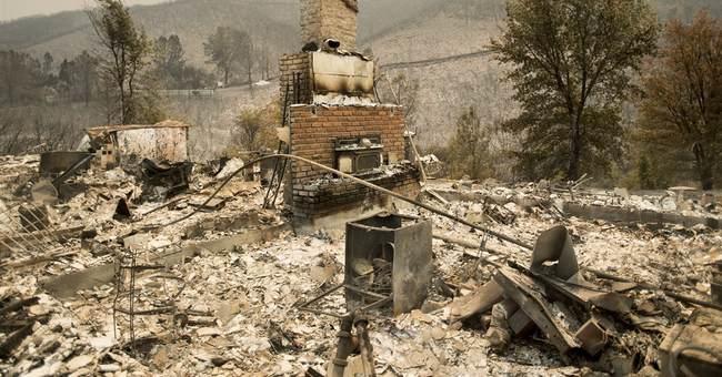 The Latest: Agency: Boy smoking pot sparks California fire