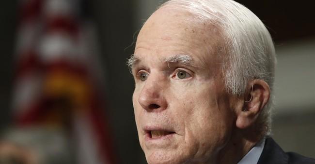 The Latest: Arizona's other senator says McCain's optimistic
