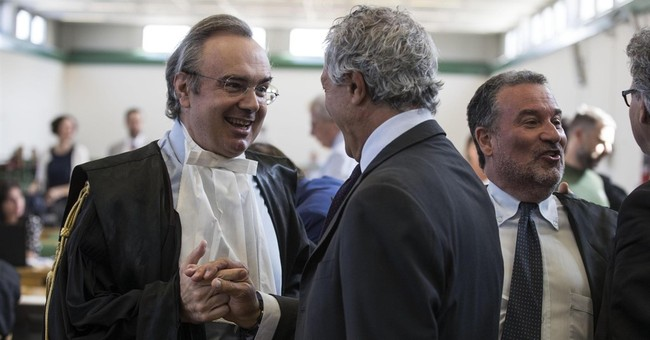 Court convicts more than 40 in Rome corruption trial