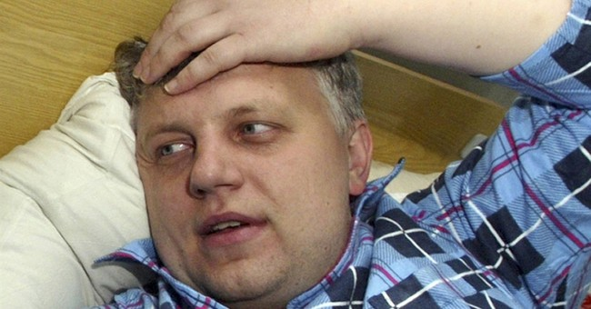 Correction: Ukraine-Journalist Killed story
