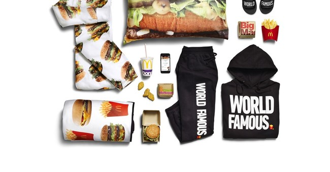 McDonald's adds Big Mac onesie, sweatsuit to delivery items