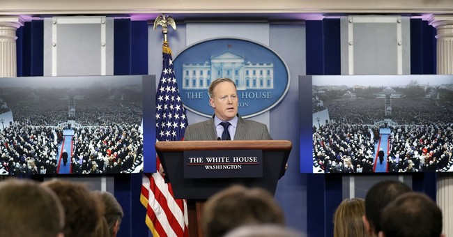 Sean Spicer hit bumps in road from first day at White House