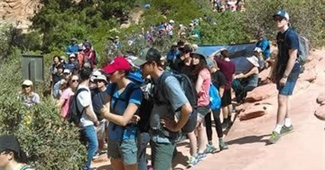 Check in to get away: Zion park aims to require reservations
