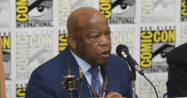 Civil rights icon leads march through California Comic-Con