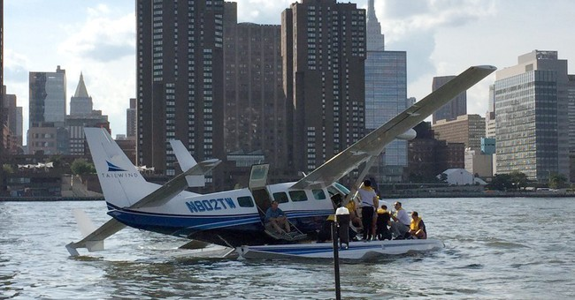NTSB assessing whether to probe NYC seaplane hard landing