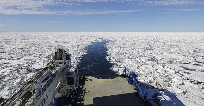360 camera, drones: AP team gears up for a melting Arctic
