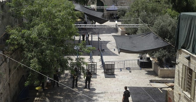 Israeli security Cabinet meets to review policy at shrine