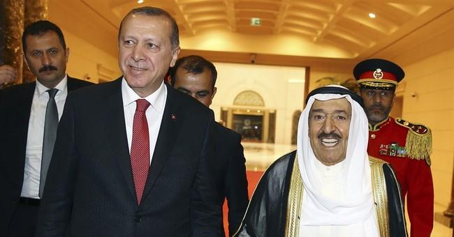 Turkish president meets Qatari leader over Gulf dispute