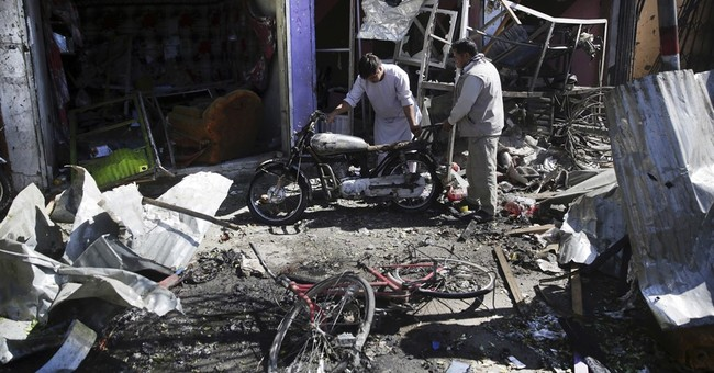 The Latest: Pakistan condemns Taliban bombing in Kabul