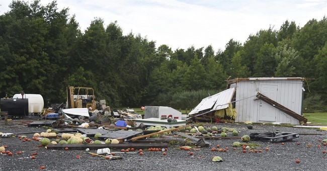 No further injuries found after tornado hits Eastern Shore