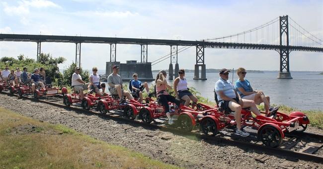 Riding the rails: Touring Rhode Island on a rail bike