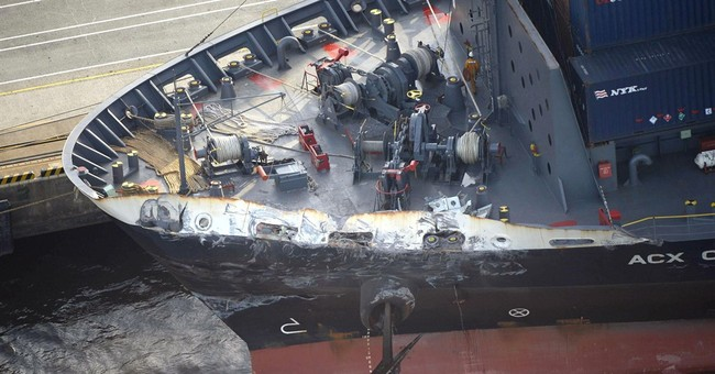 Japan almost finished with probe into US Navy ship collision