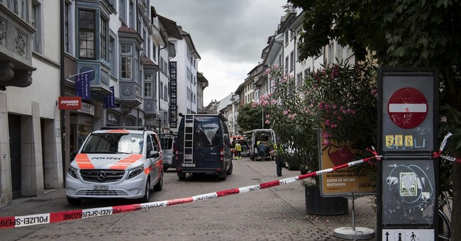 Hunt is on for chainsaw attacker who wounded 5 in Swiss city