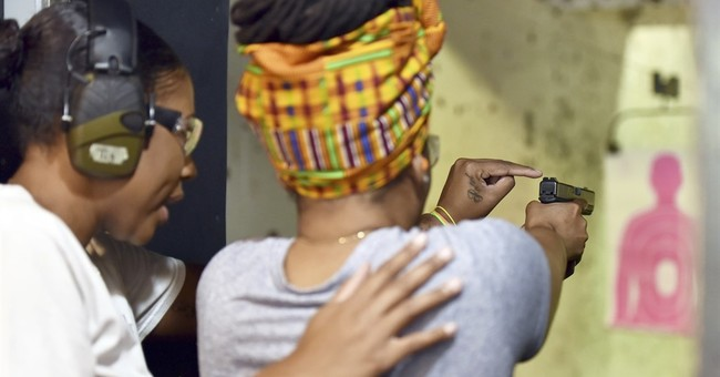 Black women picking up firearms for self-defense
