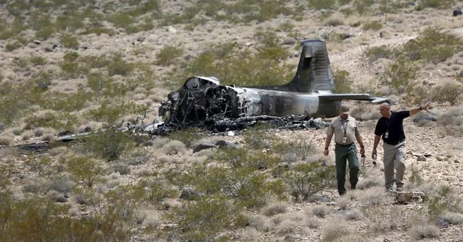 Pilot survives vintage military jet fire near Nevada airport