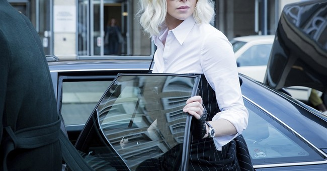 Review: In 'Atomic Blonde,' Theron heats up the Cold War