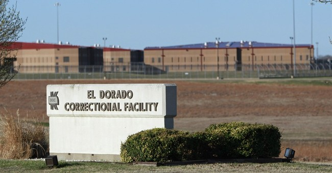 The Latest: Report of disturbance at Kansas prison disputed