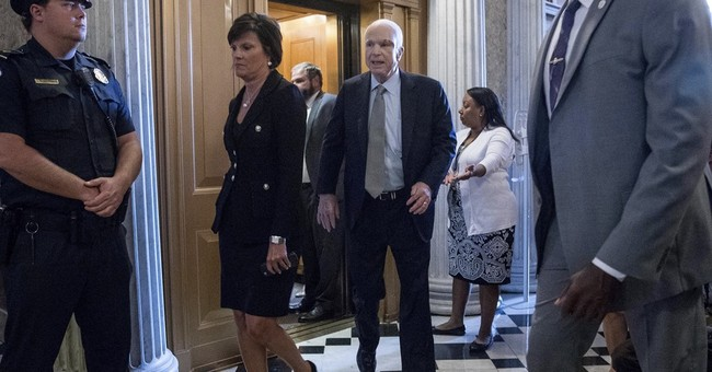 GOP senators blink on a big chance to repeal 'Obamacare'