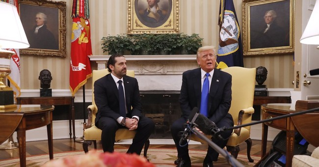 Trump, Lebanese leader pledge solidarity against terrorism