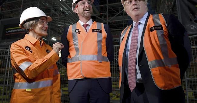 UK's Boris Johnson tours Sydney Opera House before meetings