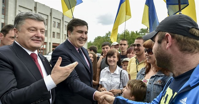 Ukraine strips citizenship of ex-Georgia leader Saakashvili
