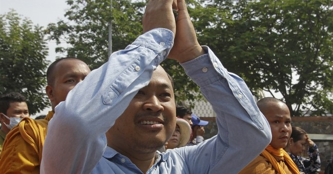 Critic of Cambodian leader defiant in defamation trial