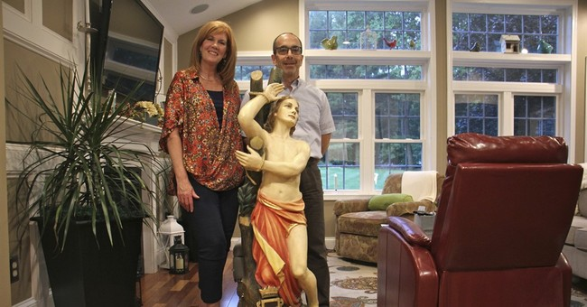 Statue kept decades in Philly closet sent to Italian church