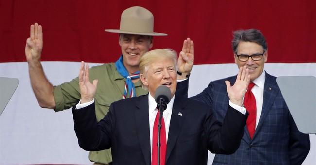 Boy Scout leader apologizes for Trump's political rhetoric
