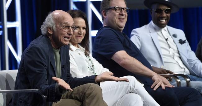 Larry David says his blunt 'Curb' character is no Trump