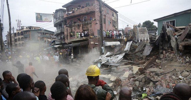 At least 8 dead in building collapse in Nigeria's Lagos