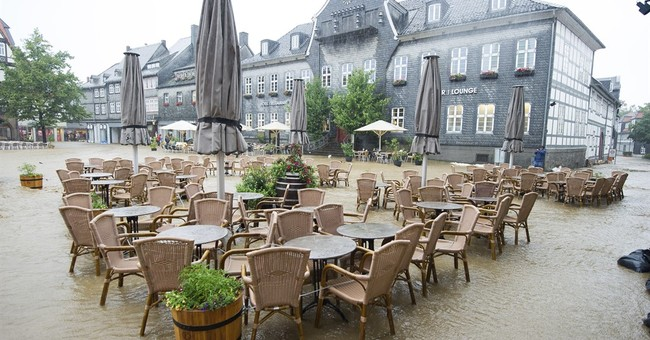 Floods hit northern Germany, force some evacuations