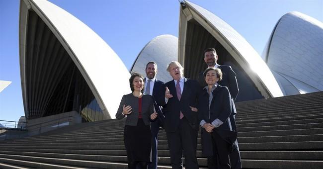 UK's Boris Johnson welcomes Australian tech entrepreneurs