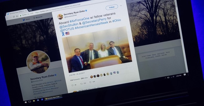 Zinke incorrectly identifies VA chief as 'fellow veteran'