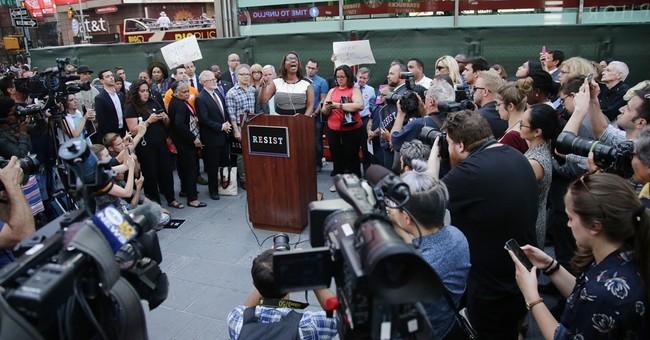 The Latest: San Francisco protests Trump's transgender ban