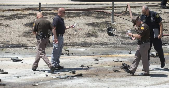 The Latest: 911 calls show horror of Utah plane crash