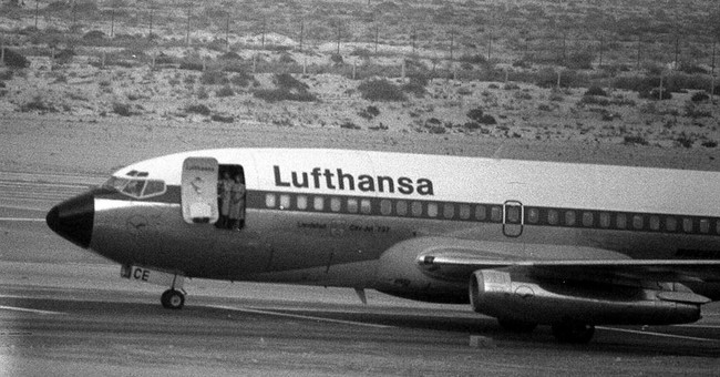 German plane hijacked to Somalia in 1977 being brought home