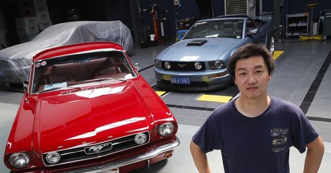 Demand overseas keeps Mustang on top despite lower US sales