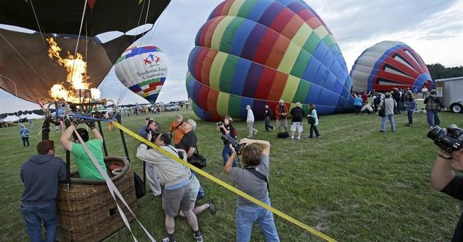 Balloon festival prepares to fly near Trump golf course