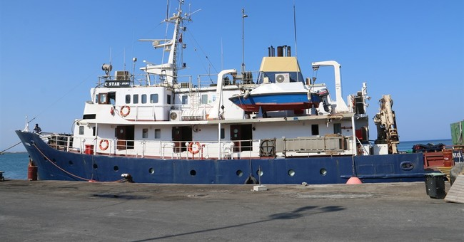 Defend Europe: Ship still off Cyprus over 'security warning'