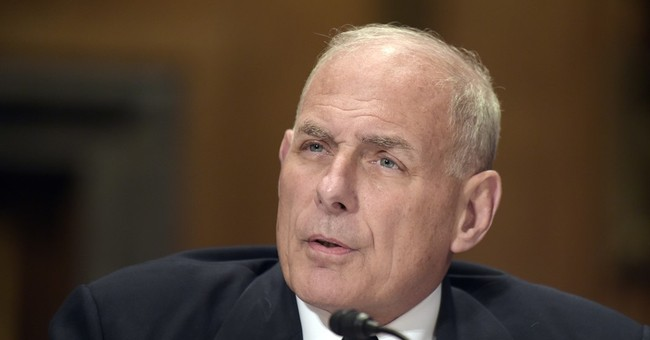 "Kelly is Trump's ""star"" secretary, now WH chief of staff"