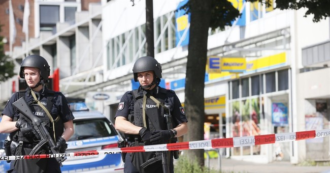 The Latest: German police say stabbing suspect born in UAE
