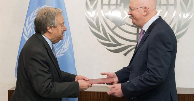 Russia's new UN envoy: World faces 'unprecedented threats'