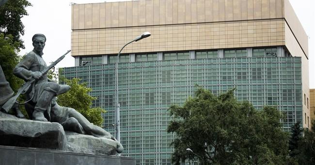 The Latest: EU 'vigilant' on new US sanctions on Russia