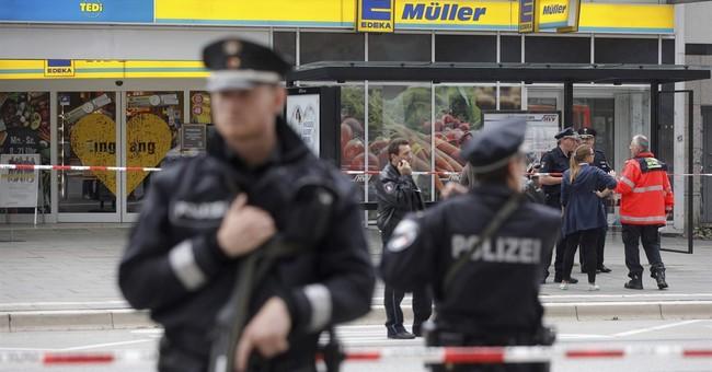 1 dead, 6 injured after knife attack at German supermarket