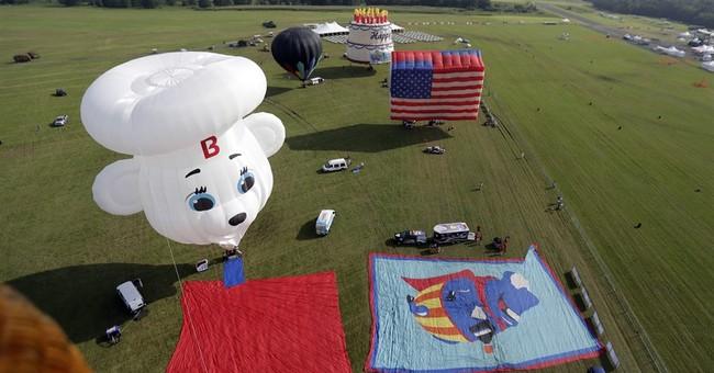 Balloon festival takes to skies near Trump golf course