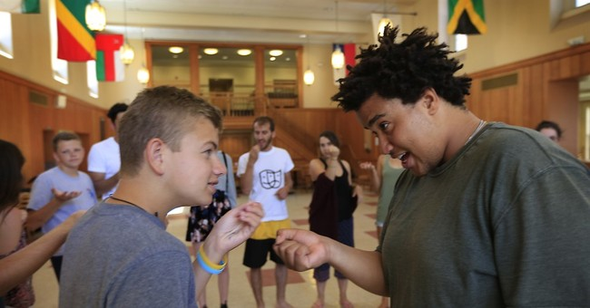 Teens bond over shared history of suffering from terrorism