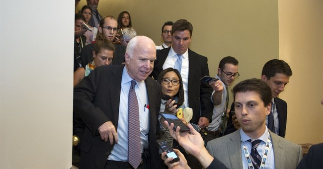 McCain first saves, then kills health care repeal bill