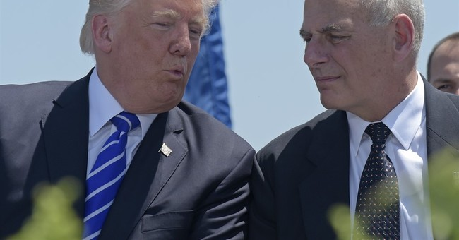 President Trump names John Kelly as White House chief of staff