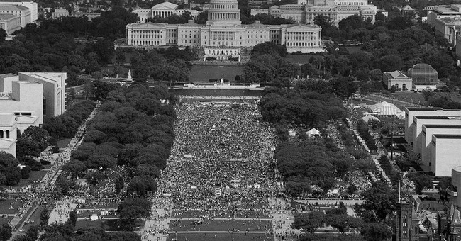 PHOTOS: Past and present, protest part of Washington history